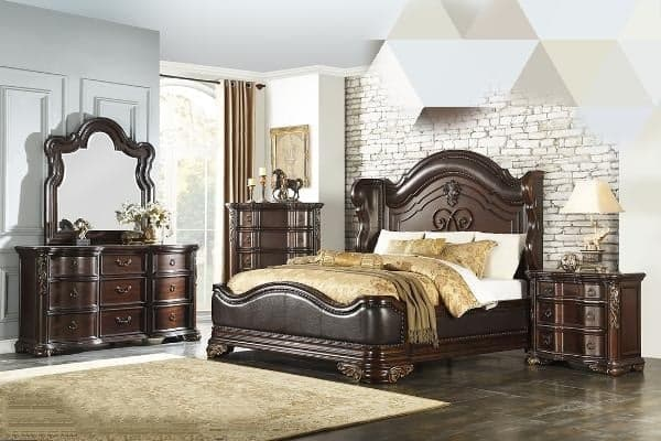 1603  6 PC Bed Room Set, 1603, Bedroom Sets, 1603  6 PC Bed Room Set from Homelegance by Midha Furniture serving Brampton, Mississauga, Etobicoke, Toronto, Scraborough, Caledon, Cambridge, Oakville, Markham, Ajax, Pickering, Oshawa, Richmondhill, Kitchener, Hamilton, Cambridge, Waterloo and GTA area