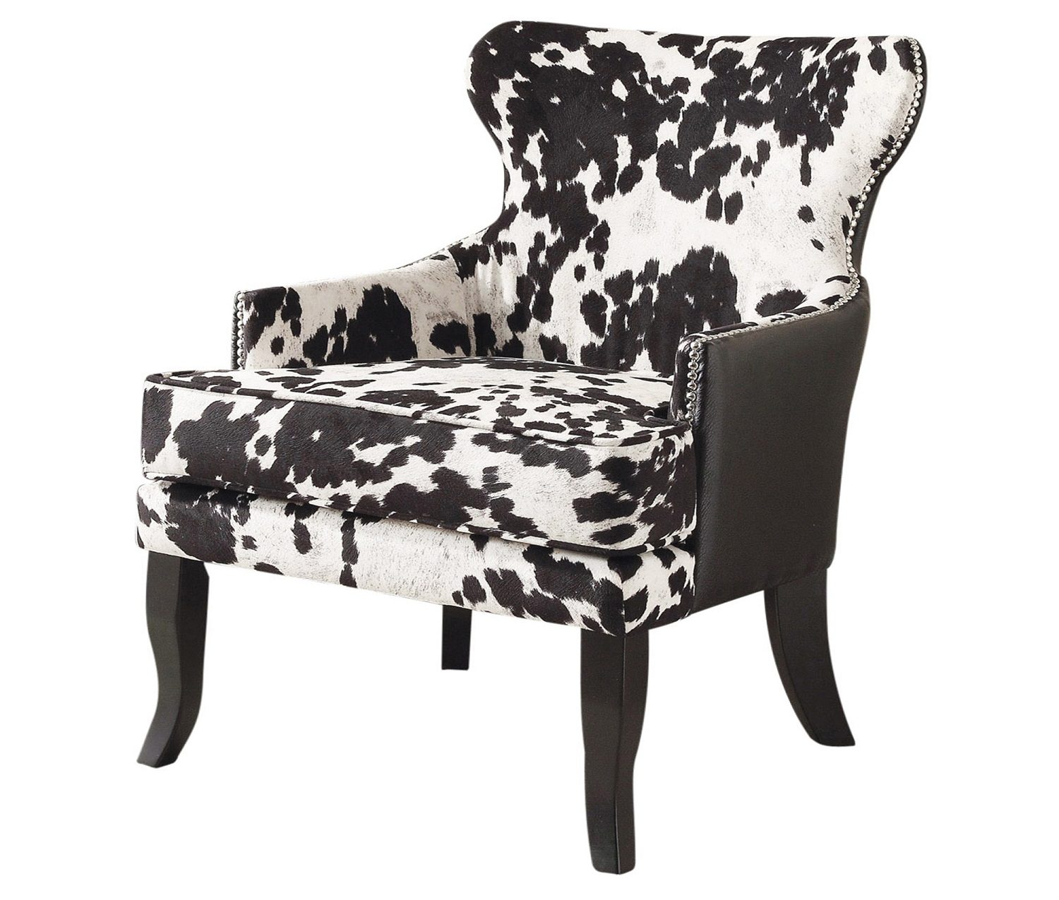 ANGUS II-ACCENT CHAIR-BLACK, 841173015640, Accent Chairs by Midha Furniture to Brampton, Mississauga, Etobicoke, Toronto, Scraborough, Caledon, Oakville, Markham, Ajax, Pickering, Oshawa, Richmondhill, Kitchener, Hamilton and GTA area
