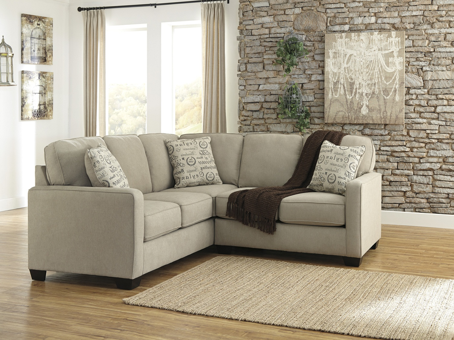 Alenya Sectional (LAF Love Seat/RAF Sofa), 16600, Sectionals by Midha Furniture to Brampton, Mississauga, Etobicoke, Toronto, Scraborough, Caledon, Oakville, Markham, Ajax, Pickering, Oshawa, Richmondhill, Kitchener, Hamilton and GTA area