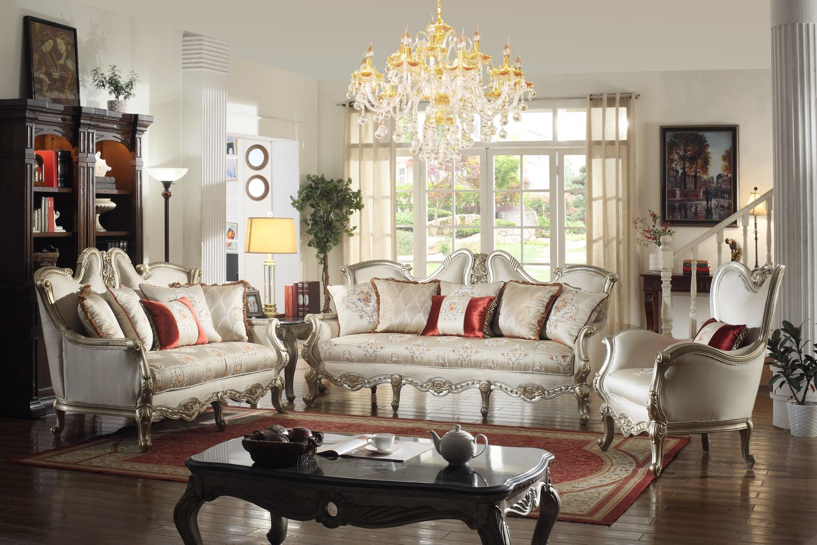 Aria Classical Living, Aria, Sofa Sets by Midha Furniture to Brampton, Mississauga, Etobicoke, Toronto, Scraborough, Caledon, Oakville, Markham, Ajax, Pickering, Oshawa, Richmondhill, Kitchener, Hamilton and GTA area