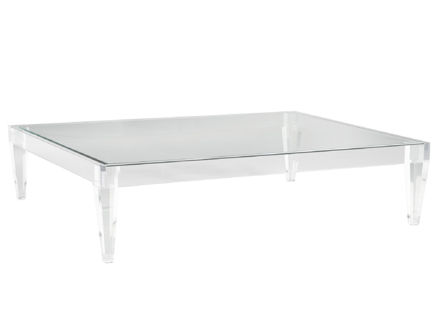 Avalon Acrylic Rectangle Coffee Table, 100998, Coffee Table by Midha Furniture to Brampton, Mississauga, Etobicoke, Toronto, Scraborough, Caledon, Oakville, Markham, Ajax, Pickering, Oshawa, Richmondhill, Kitchener, Hamilton and GTA area