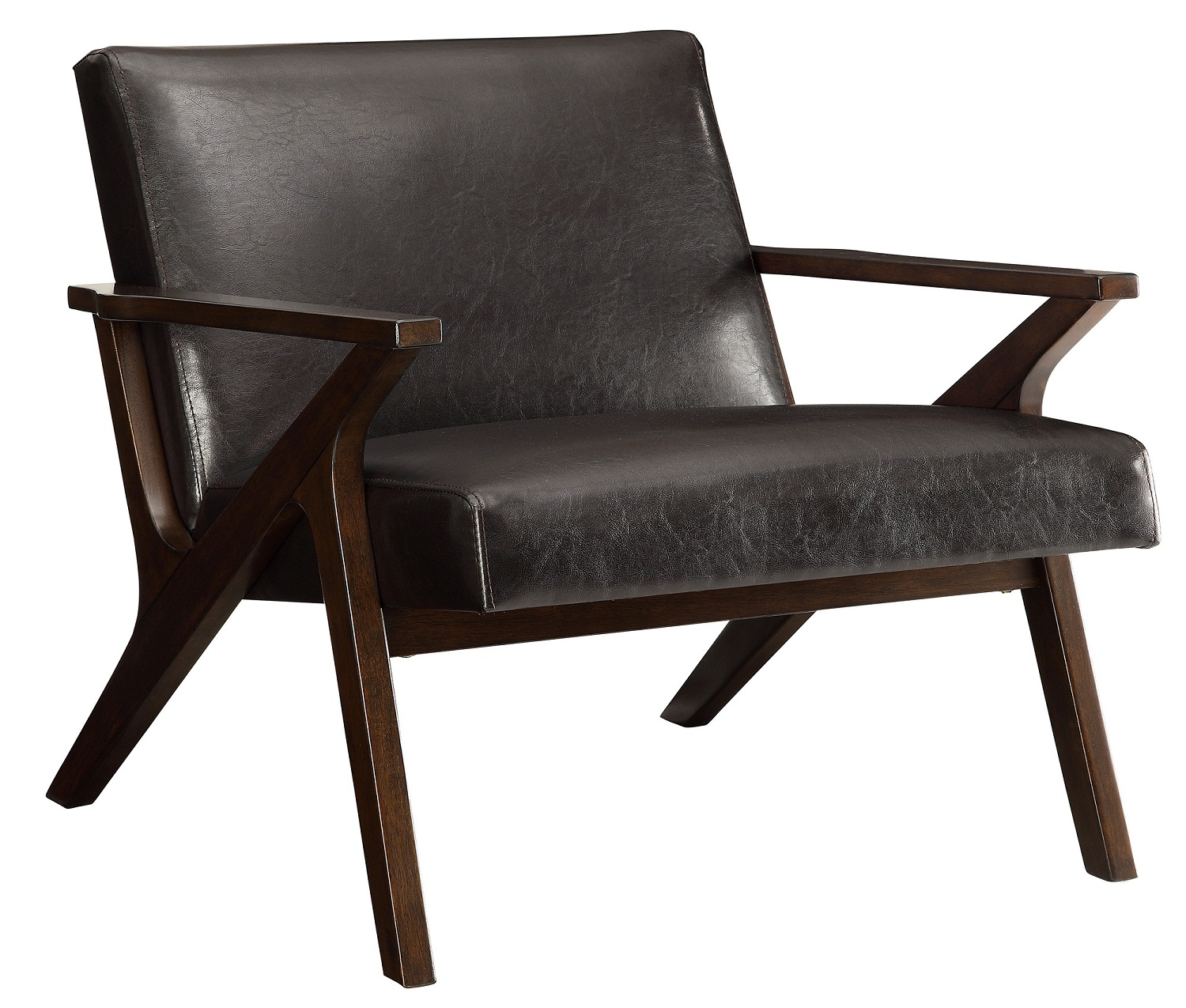 BESO-ACCENT CHAIR-BROWN, 841173025281, Accent Chairs, BESO-ACCENT CHAIR-BROWN from Dropship by Midha Furniture serving Brampton, Mississauga, Etobicoke, Toronto, Scraborough, Caledon, Cambridge, Oakville, Markham, Ajax, Pickering, Oshawa, Richmondhill, Kitchener, Hamilton, Cambridge, Waterloo and GTA area
