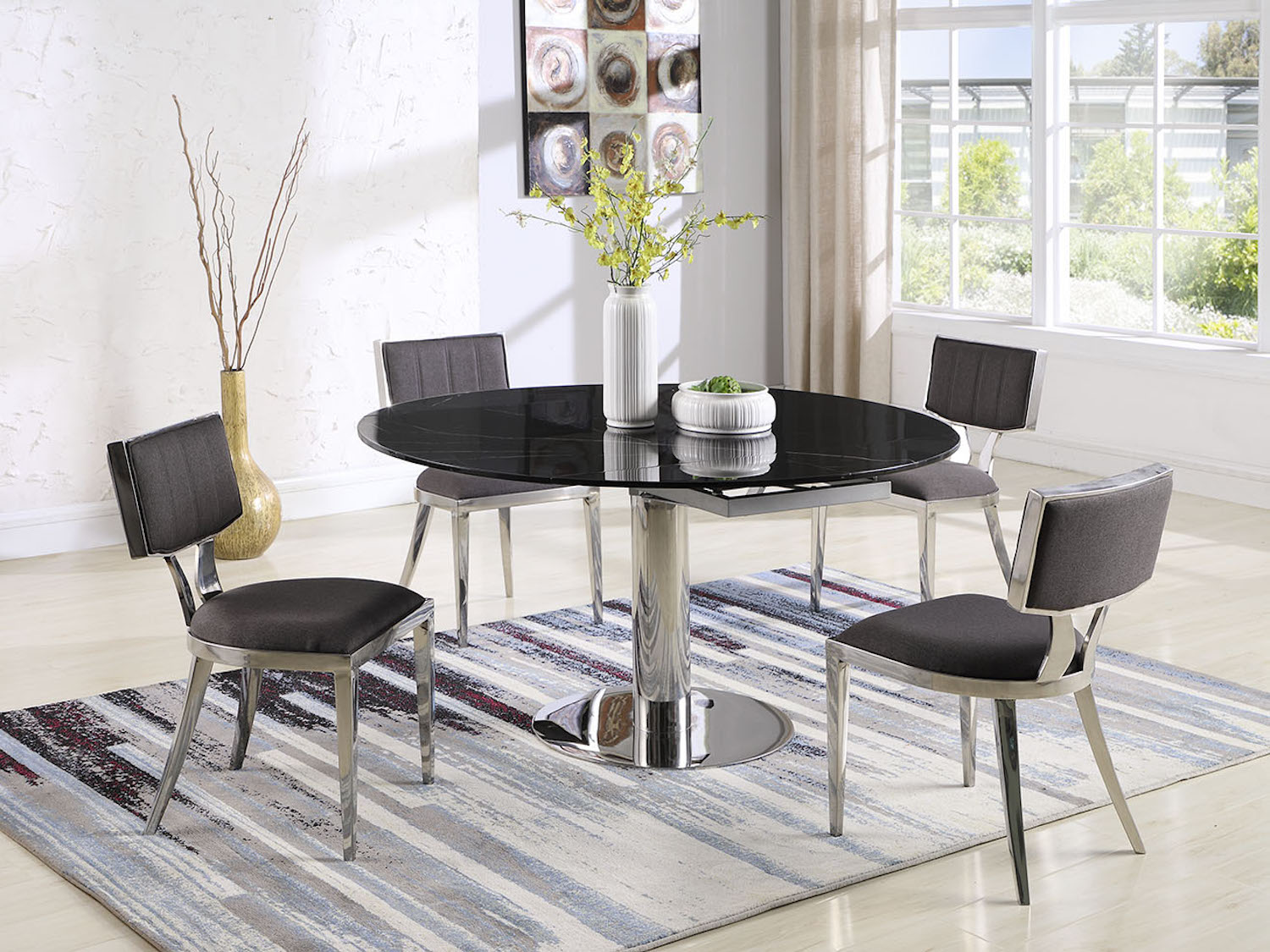 Bailey Dining Set, Bailey, Premium Dining Room Collection by Midha Furniture to Brampton, Mississauga, Etobicoke, Toronto, Scraborough, Caledon, Oakville, Markham, Ajax, Pickering, Oshawa, Richmondhill, Kitchener, Hamilton and GTA area