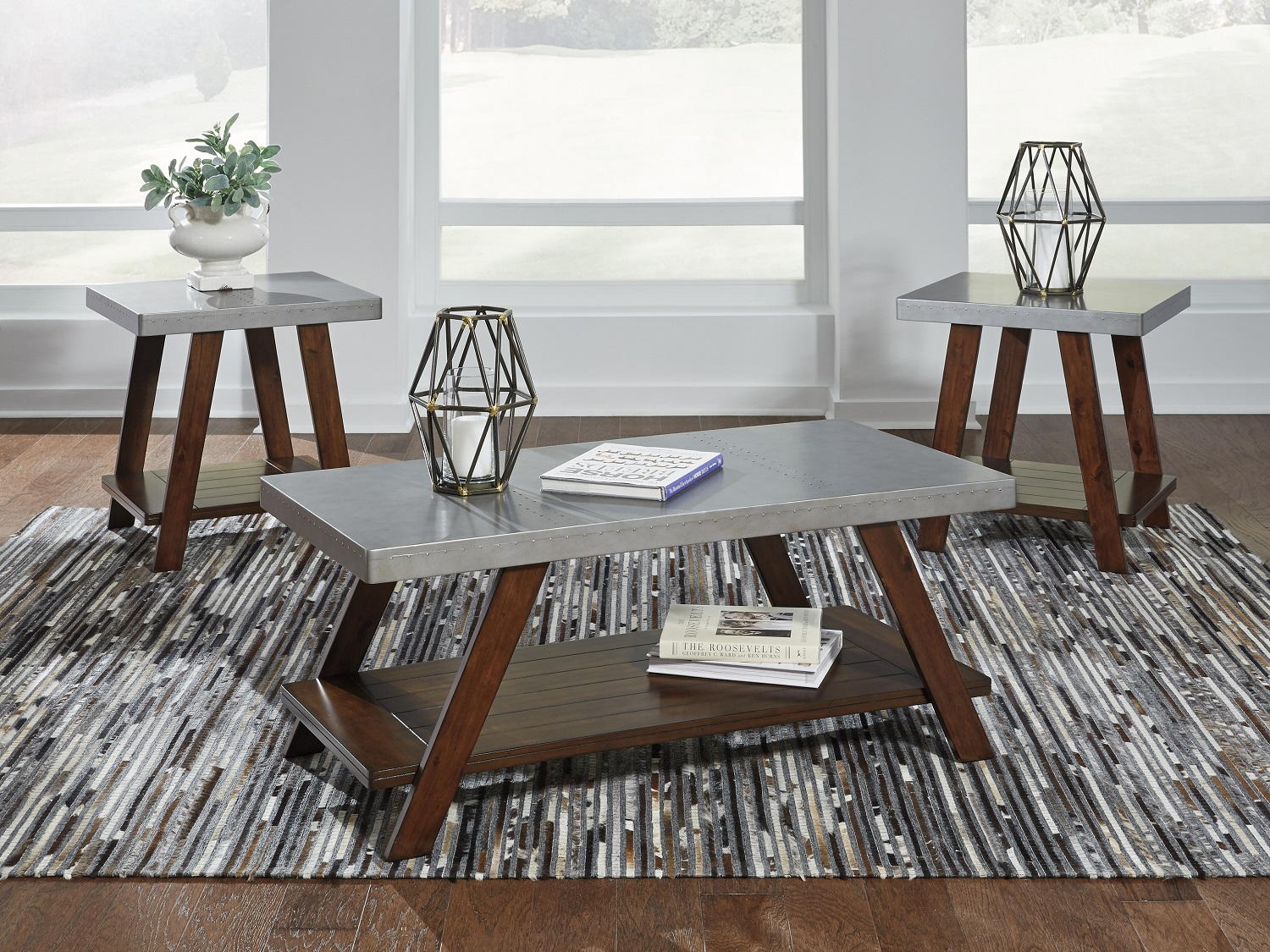 Bellenteen, T295-13, Coffee Table by Midha Furniture to Brampton, Mississauga, Etobicoke, Toronto, Scraborough, Caledon, Oakville, Markham, Ajax, Pickering, Oshawa, Richmondhill, Kitchener, Hamilton and GTA area