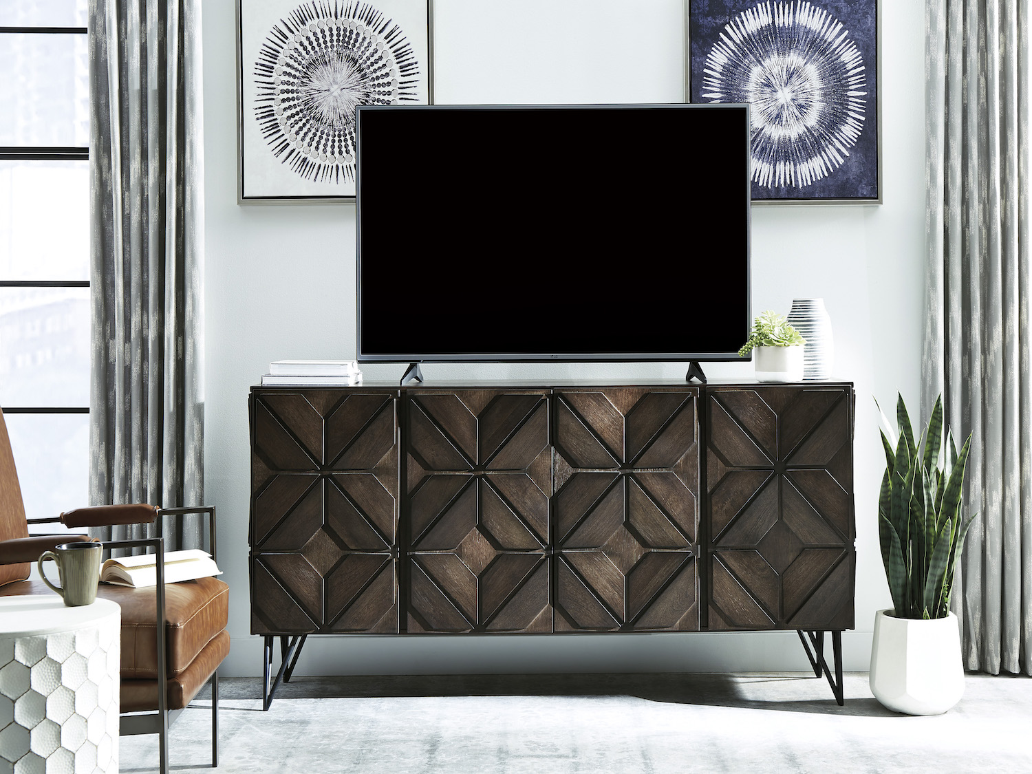 Chasinfield TV Stand, W648, TV Stand, Chasinfield TV Stand from Ashley by Midha Furniture serving Brampton, Mississauga, Etobicoke, Toronto, Scraborough, Caledon, Cambridge, Oakville, Markham, Ajax, Pickering, Oshawa, Richmondhill, Kitchener, Hamilton, Cambridge, Waterloo and GTA area
