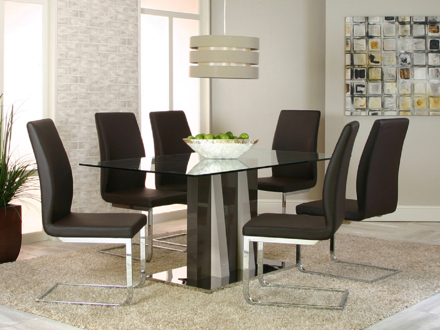 Wide range of Cramco Glass Top Dining Set available at a low price. Buy HEKA w/PORTOBELLO SIDE CHAIRS 5 PIECE SET Made of Glass Top up to 40% Off.