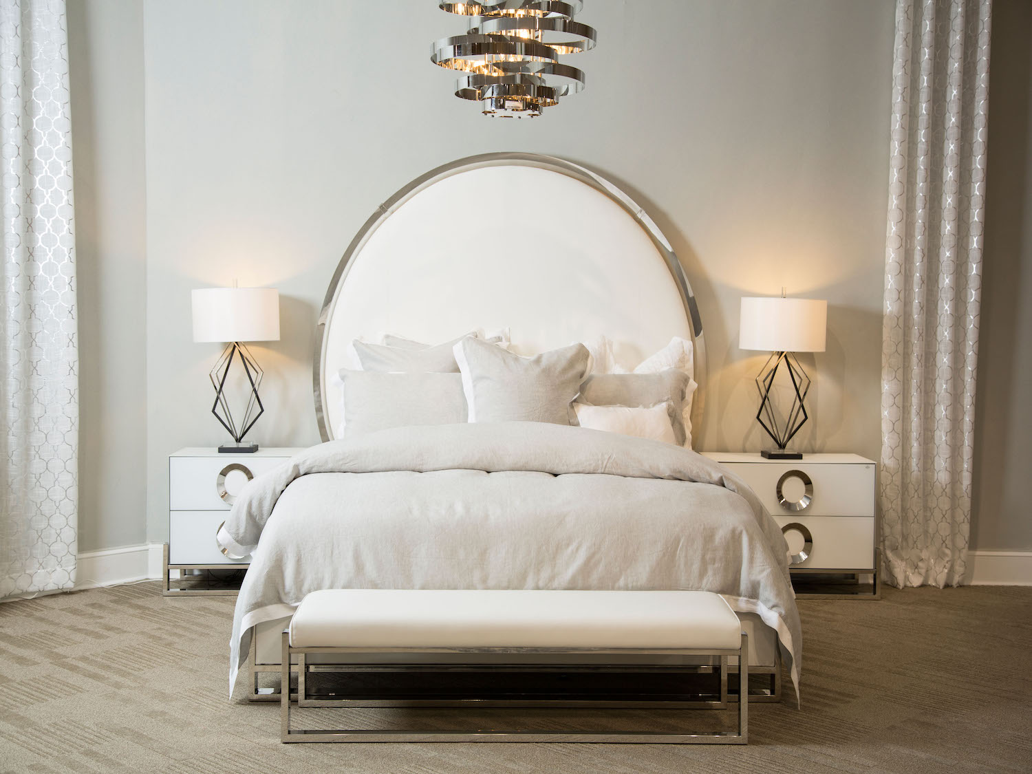 Michael Amini Halo Luxury King Bed In Modern Style, Halo, Premium Bedroom Furniture, Michael Amini Halo Luxury King Bed In Modern Style from Michael Amini