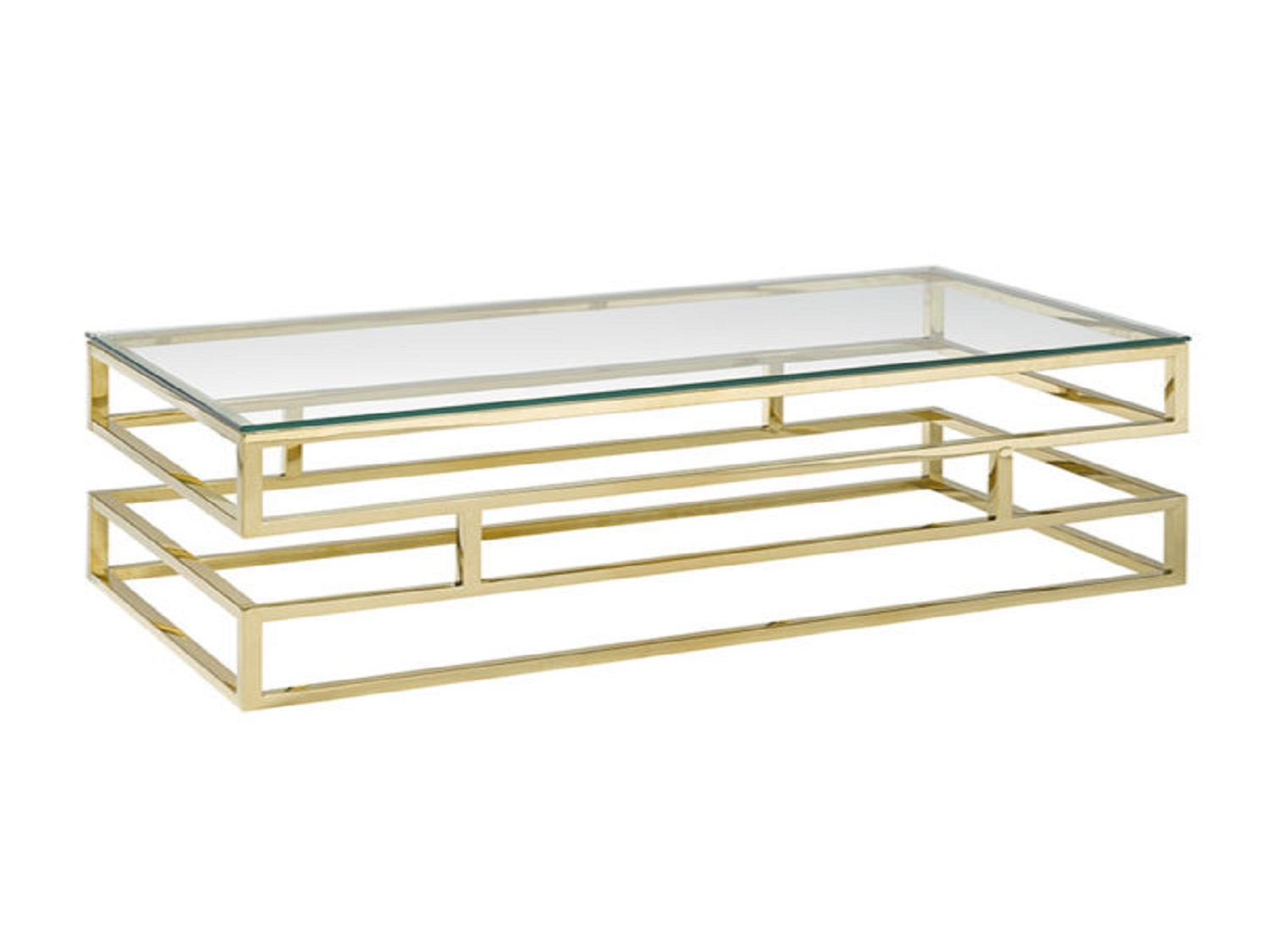 Keaten Glass Top Gold Coffee Table, 100060, Coffee Table by Midha Furniture to Brampton, Mississauga, Etobicoke, Toronto, Scraborough, Caledon, Oakville, Markham, Ajax, Pickering, Oshawa, Richmondhill, Kitchener, Hamilton and GTA area