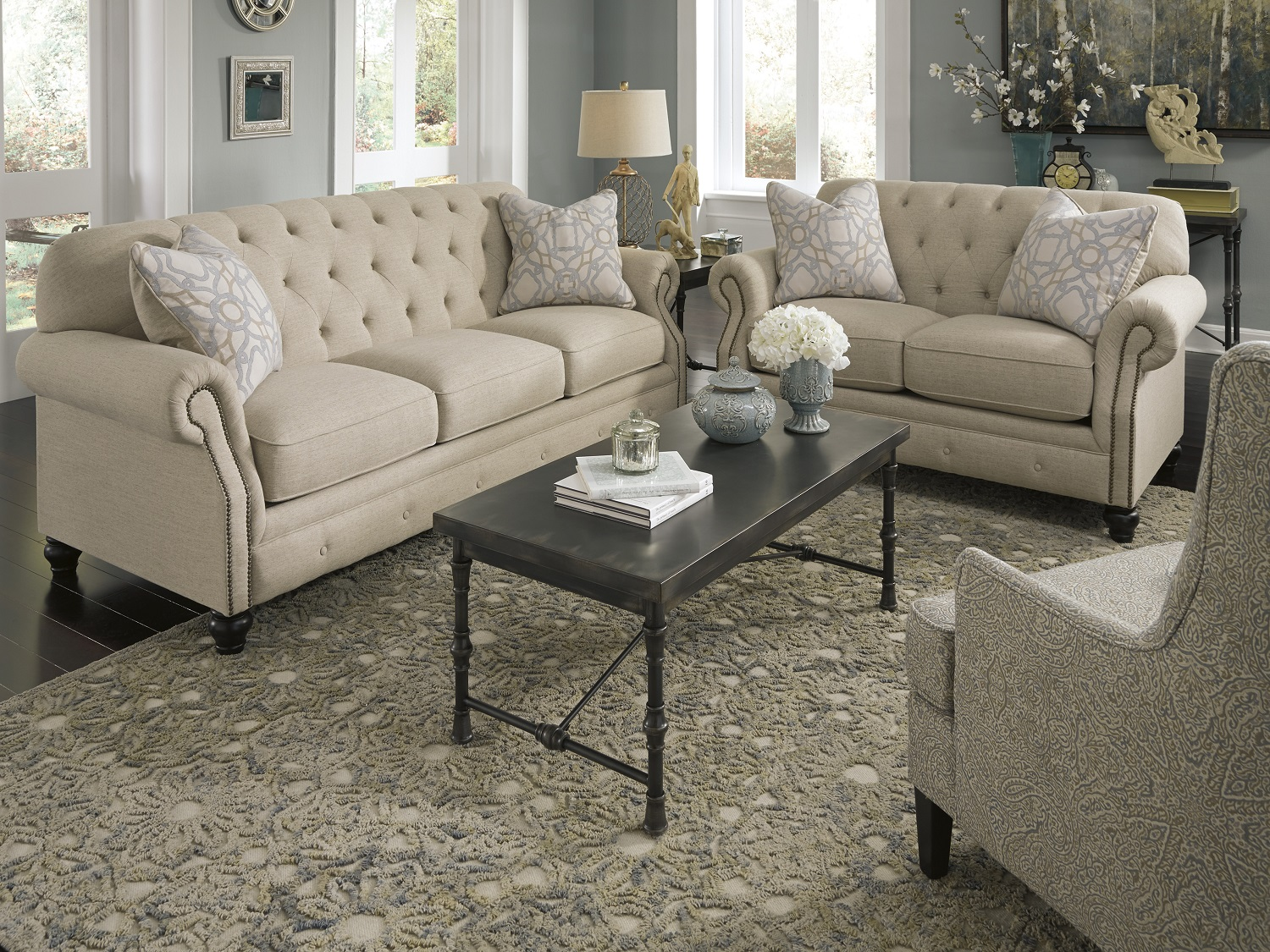Kieran Sofa Only, 440001, Sofa Sets by Midha Furniture to Brampton, Mississauga, Etobicoke, Toronto, Scraborough, Caledon, Oakville, Markham, Ajax, Pickering, Oshawa, Richmondhill, Kitchener, Hamilton and GTA area