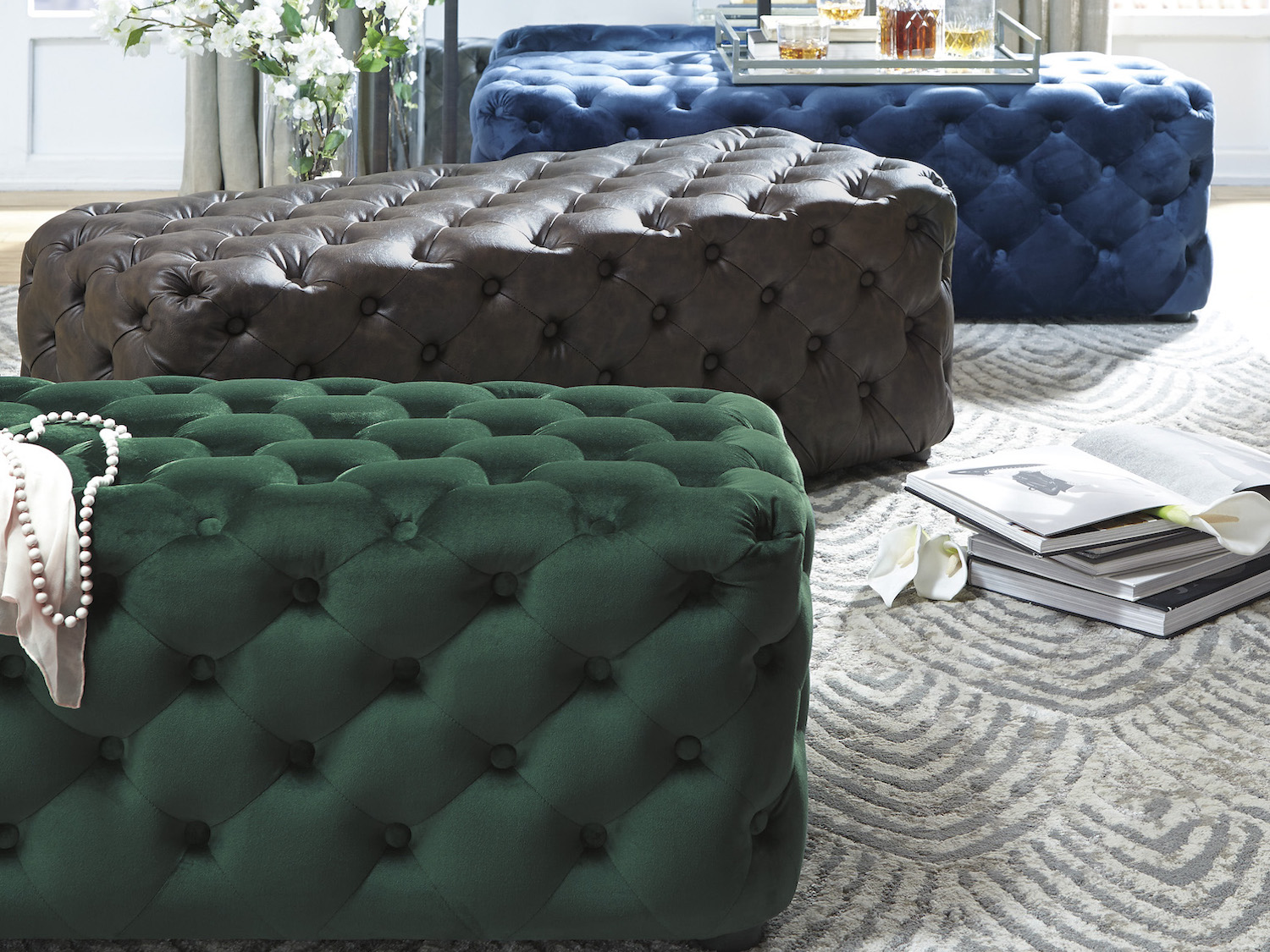Lister Accent Ottoman, A3000169/170/171, Ottoman by Midha Furniture to Brampton, Mississauga, Etobicoke, Toronto, Scraborough, Caledon, Oakville, Markham, Ajax, Pickering, Oshawa, Richmondhill, Kitchener, Hamilton, Cambridge, Waterloo and GTA area