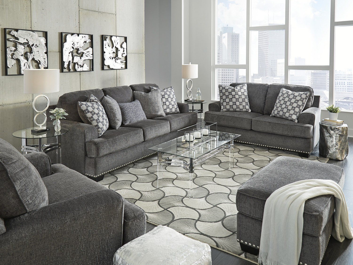 Locklin Sofa Only, 95904, Sofa Sets by Midha Furniture to Brampton, Mississauga, Etobicoke, Toronto, Scraborough, Caledon, Oakville, Markham, Ajax, Pickering, Oshawa, Richmondhill, Kitchener, Hamilton and GTA area