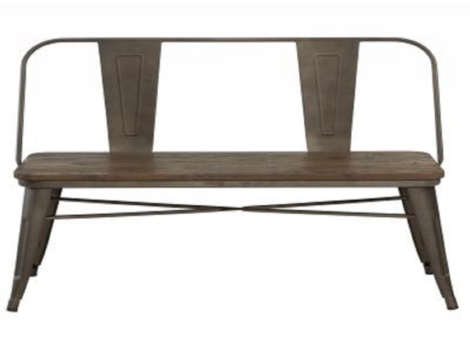 MODUS-DOUBLE BENCH-GUNMETAL, 841173021146, Benches, MODUS-DOUBLE BENCH-GUNMETAL from Dropship by Midha Furniture serving Brampton, Mississauga, Etobicoke, Toronto, Scraborough, Caledon, Cambridge, Oakville, Markham, Ajax, Pickering, Oshawa, Richmondhill, Kitchener, Hamilton, Cambridge, Waterloo and GTA area