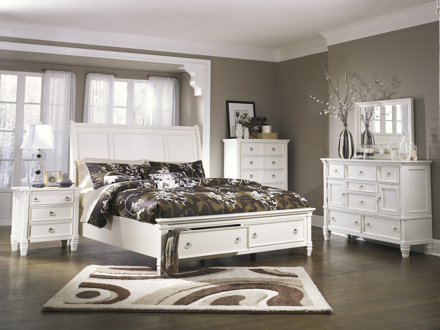 Prentice 6 pc Bedroom Set, B672, Bedroom Sets by Midha Furniture to Brampton, Mississauga, Etobicoke, Toronto, Scraborough, Caledon, Oakville, Markham, Ajax, Pickering, Oshawa, Richmondhill, Kitchener, Hamilton and GTA area