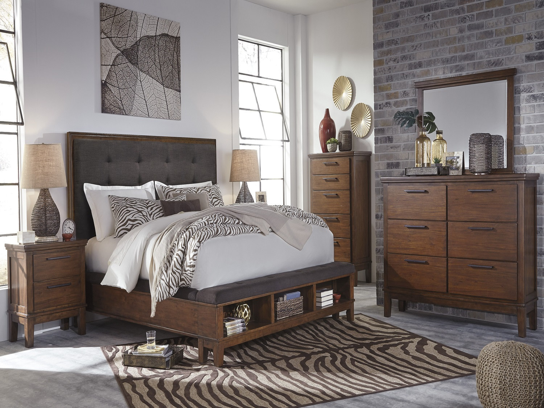 Ashley Contemporary Bedroom Set - Ralene 6 pc Bedroom Set ...