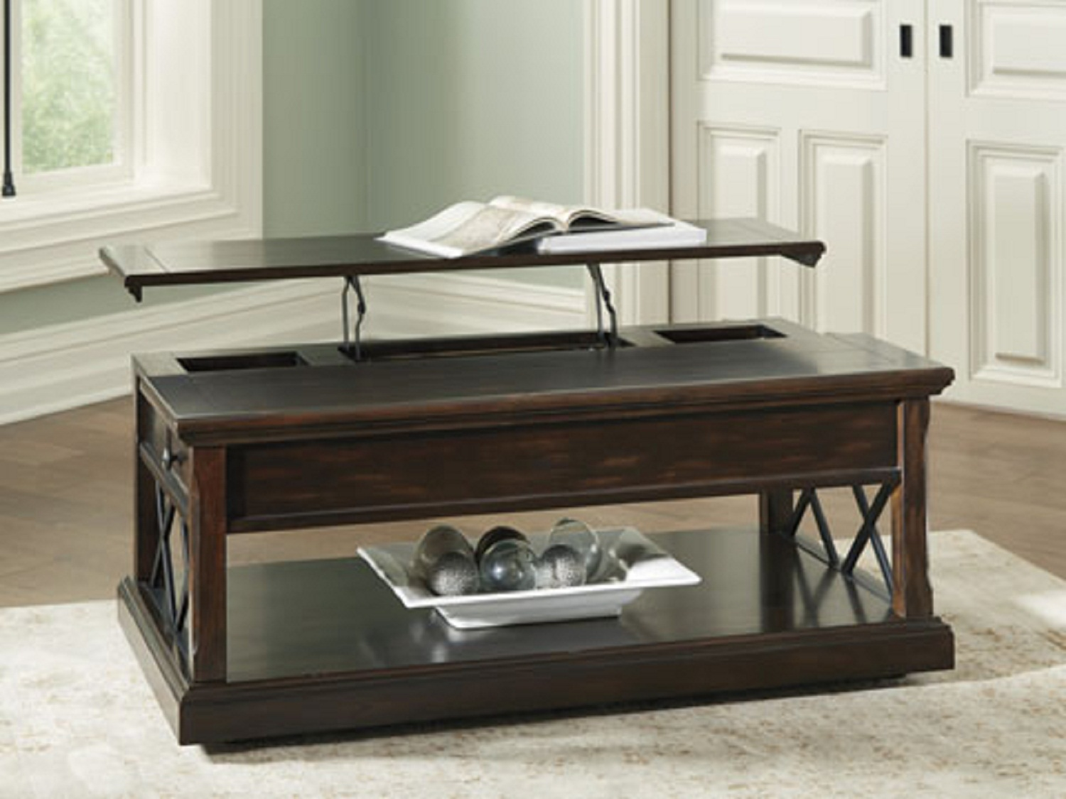 Roddinton Lift top Coffee table, T701-9, Coffee Tables by Midha Furniture to Brampton, Mississauga, Etobicoke, Toronto, Scraborough, Caledon, Oakville, Markham, Ajax, Pickering, Oshawa, Richmondhill, Kitchener, Hamilton, Cambridge, Waterloo and GTA area