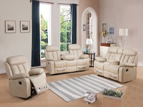 SOMERTON BEIGE Sectionals & Recliners, K164, Recliners by Midha Furniture to Brampton, Mississauga, Etobicoke, Toronto, Scraborough, Caledon, Oakville, Markham, Ajax, Pickering, Oshawa, Richmondhill, Kitchener, Hamilton and GTA area