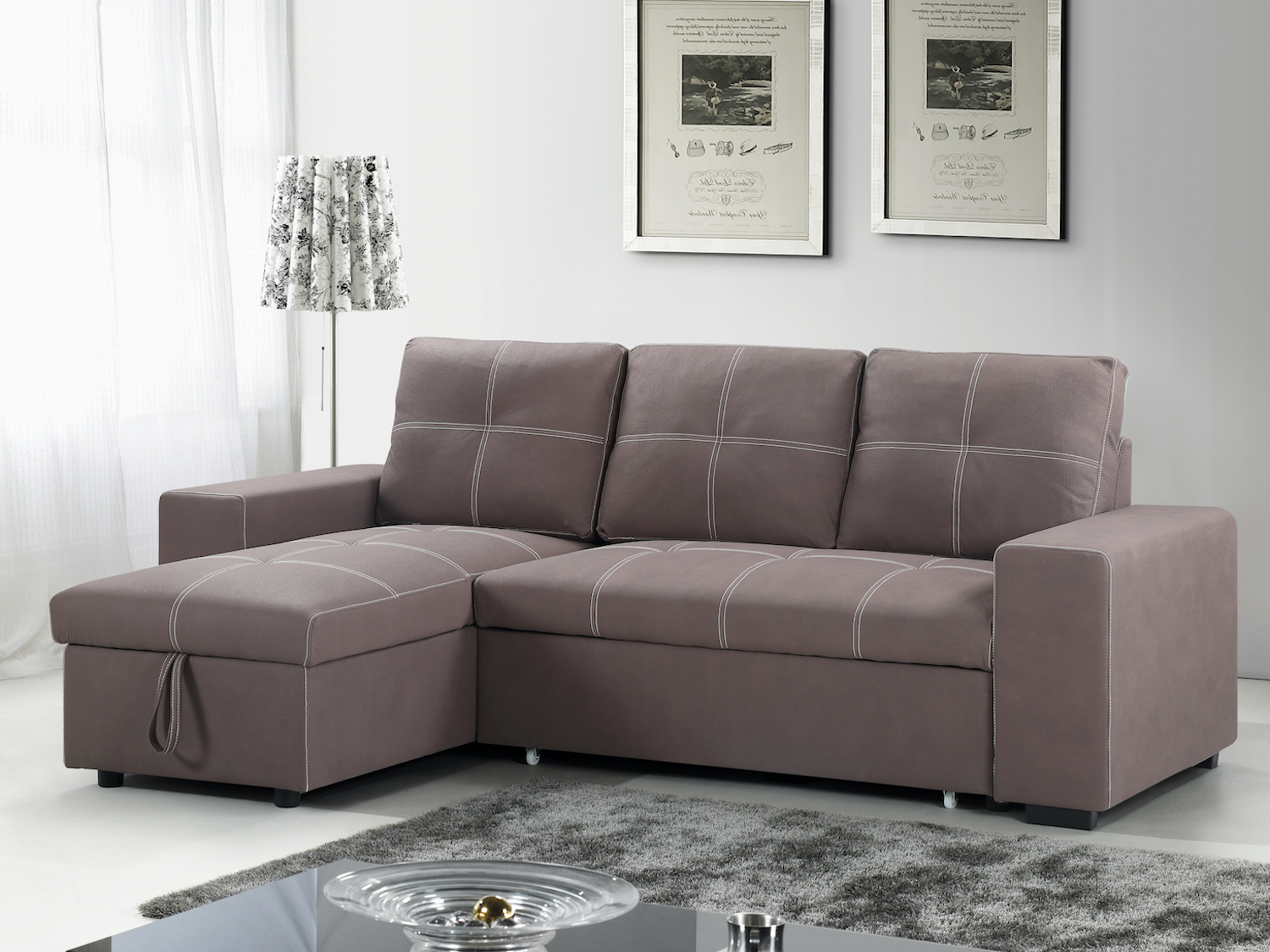 Sofabed Sectional, IF-9419, Sofa Bed/Klik Klak/Futons, Sofabed Sectional from IFDC by Midha Furniture serving Brampton, Mississauga, Etobicoke, Toronto, Scraborough, Caledon, Cambridge, Oakville, Markham, Ajax, Pickering, Oshawa, Richmondhill, Kitchener, Hamilton, Cambridge, Waterloo and GTA area