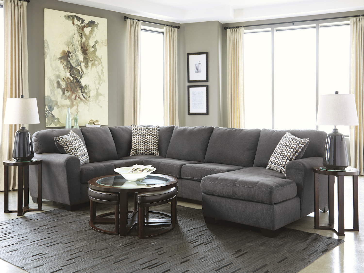 Sorenton, 28600, Sectionals by Midha Furniture to Brampton, Mississauga, Etobicoke, Toronto, Scraborough, Caledon, Oakville, Markham, Ajax, Pickering, Oshawa, Richmondhill, Kitchener, Hamilton and GTA area