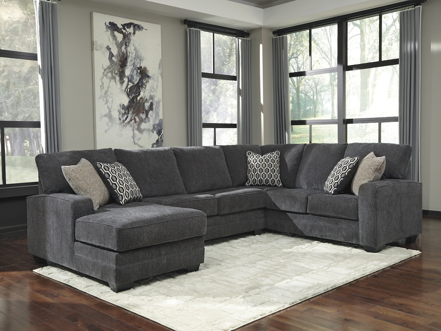 Tracling, 72600, Sectionals, Tracling from Ashley by Midha Furniture serving Brampton, Mississauga, Etobicoke, Toronto, Scraborough, Caledon, Cambridge, Oakville, Markham, Ajax, Pickering, Oshawa, Richmondhill, Kitchener, Hamilton, Cambridge, Waterloo and GTA area