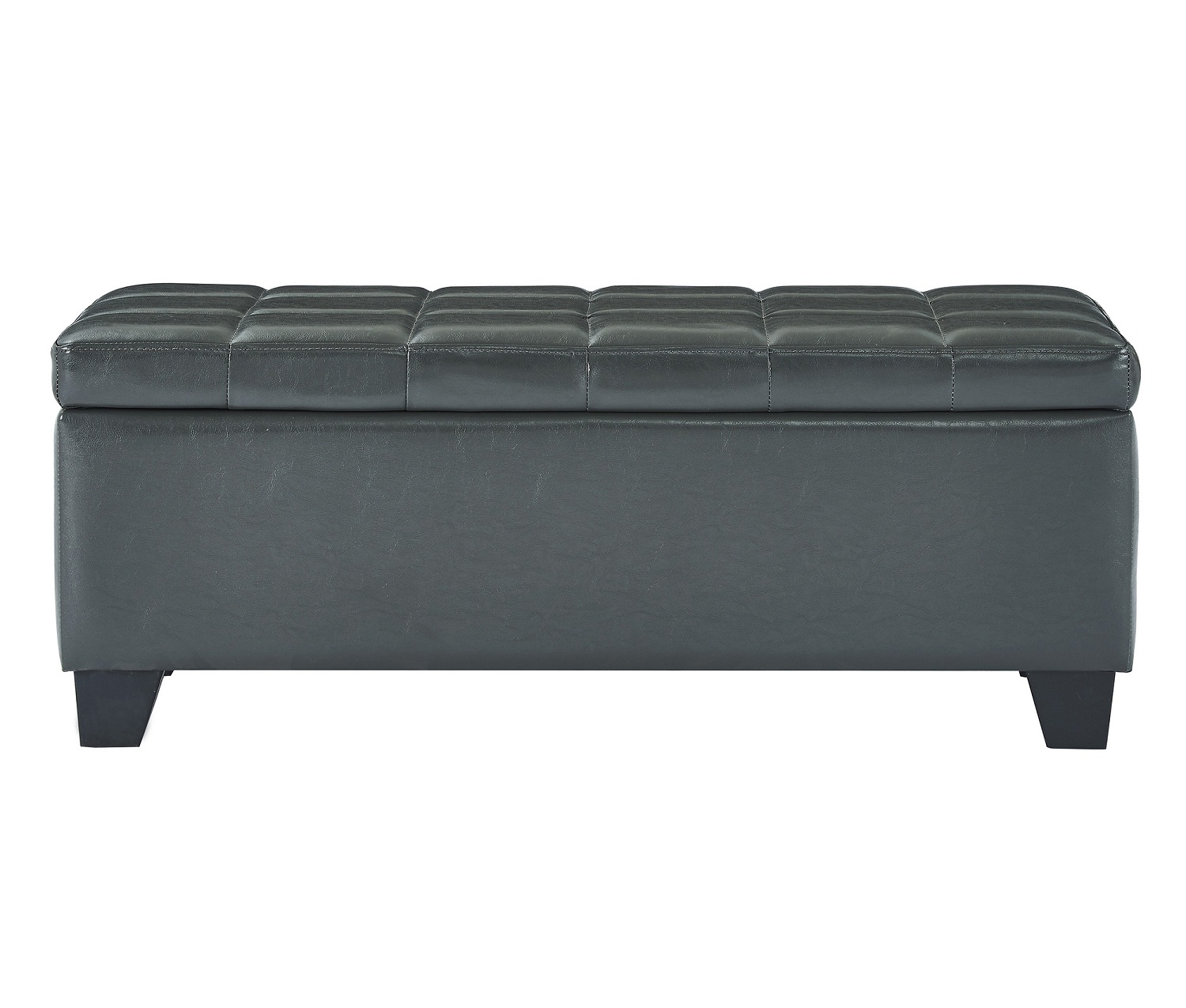 WINSTON-STORAGE OTTOMAN-GREY, 841173031862, Ottoman, WINSTON-STORAGE OTTOMAN-GREY from Dropship by Midha Furniture serving Brampton, Mississauga, Etobicoke, Toronto, Scraborough, Caledon, Cambridge, Oakville, Markham, Ajax, Pickering, Oshawa, Richmondhill, Kitchener, Hamilton, Cambridge, Waterloo and GTA area