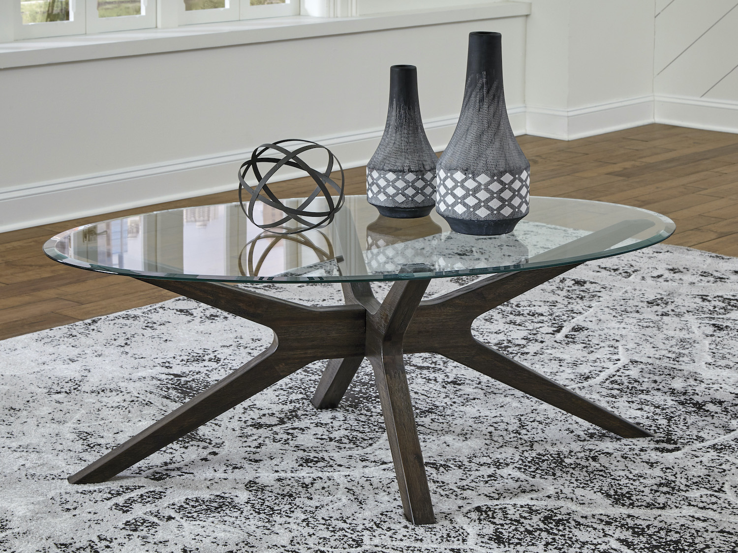 Zannory Coffee Table, T348-6, Coffee Tables by Midha Furniture to Brampton, Mississauga, Etobicoke, Toronto, Scraborough, Caledon, Oakville, Markham, Ajax, Pickering, Oshawa, Richmondhill, Kitchener, Hamilton, Cambridge, Waterloo and GTA area