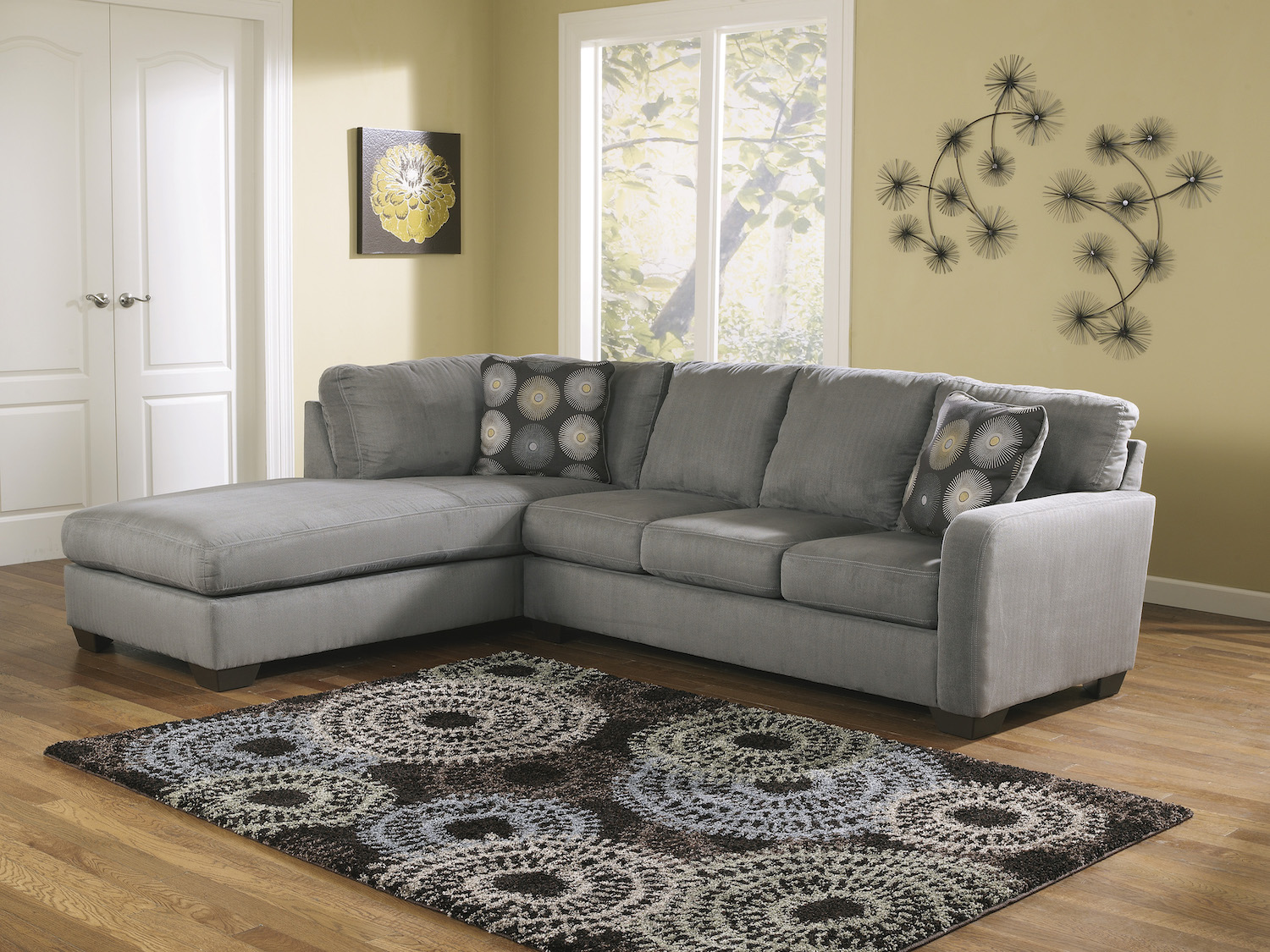 Zella Sectional, 70200, Sectionals by Midha Furniture to Brampton, Mississauga, Etobicoke, Toronto, Scraborough, Caledon, Oakville, Markham, Ajax, Pickering, Oshawa, Richmondhill, Kitchener, Hamilton and GTA area