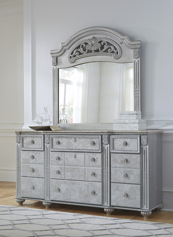 Zolena Dresser Mirror, B357, Dresser Mirrors by Midha Furniture to Brampton, Mississauga, Etobicoke, Toronto, Scraborough, Caledon, Oakville, Markham, Ajax, Pickering, Oshawa, Richmondhill, Kitchener, Hamilton and GTA area