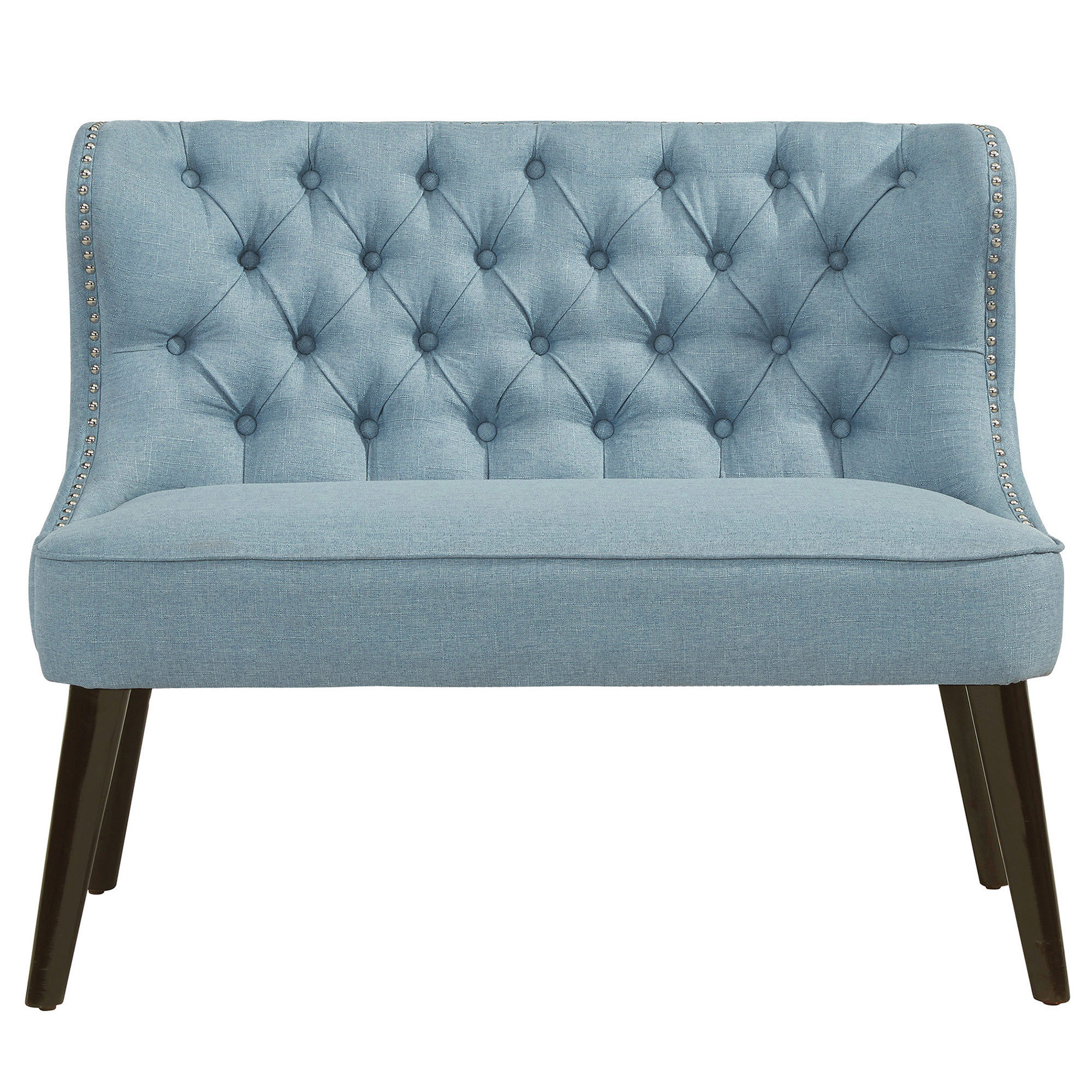 BISCOTTI-DOUBLE BENCH-LIGHT BLUE, 841173028138, Benches by Midha Furniture to Brampton, Mississauga, Etobicoke, Toronto, Scraborough, Caledon, Oakville, Markham, Ajax, Pickering, Oshawa, Richmondhill, Kitchener, Hamilton and GTA area