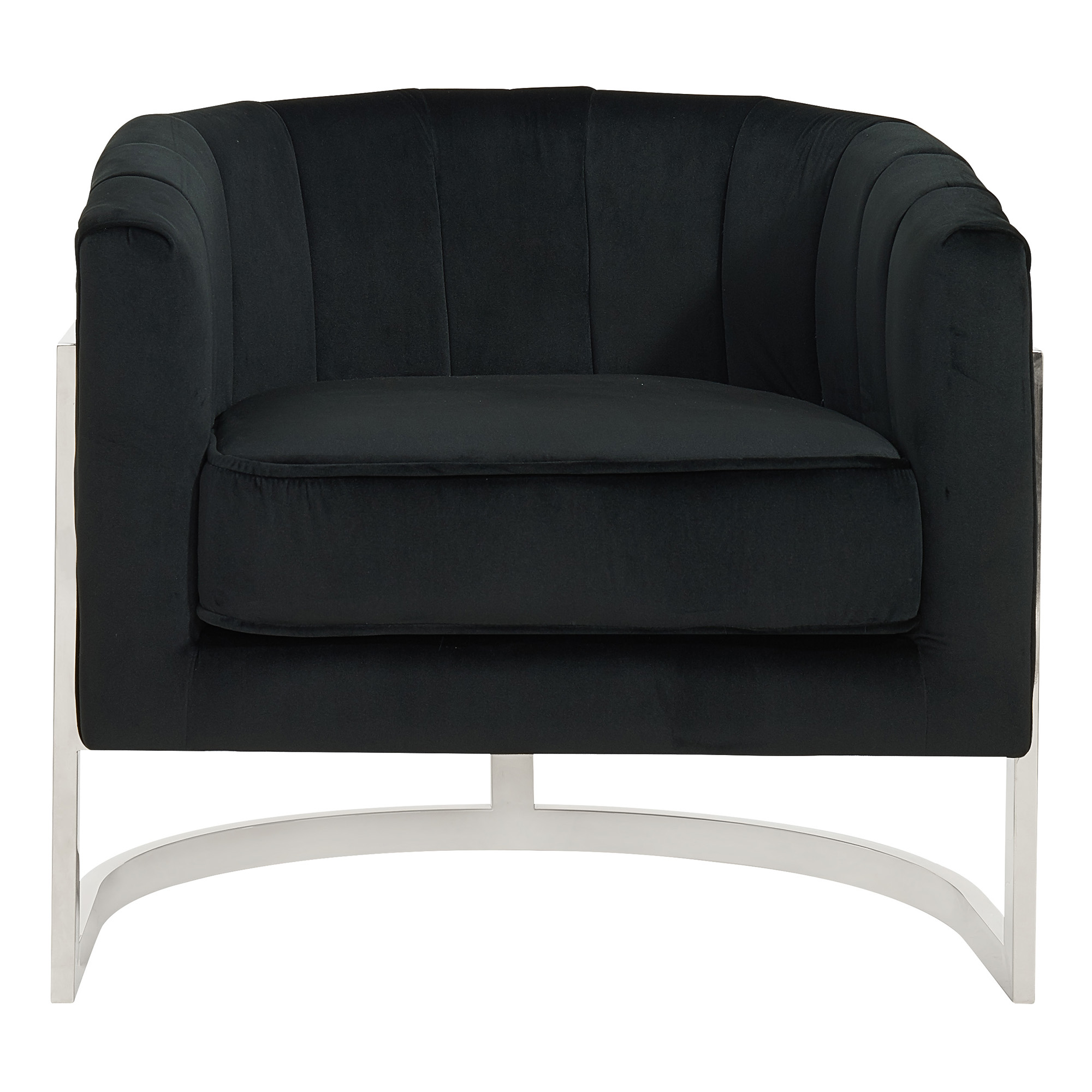 TARRA-ACCENT CHAIR-BLACK, 841173029173, Accent Chairs by Midha Furniture to Brampton, Mississauga, Etobicoke, Toronto, Scraborough, Caledon, Oakville, Markham, Ajax, Pickering, Oshawa, Richmondhill, Kitchener, Hamilton and GTA area
