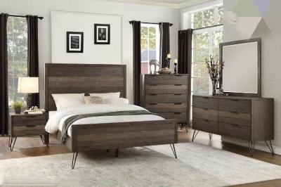 1604  6 PC BEDROOM SET