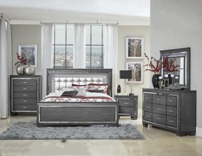 1916GY-1 BEDROOM SET