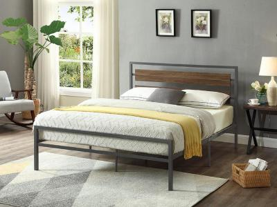 IFDC 5250 Double Size Bed in Modern Contemporary Style by Midha's Furniture Serving Brampton, Mississauga, Etobicoke, Toronto, Scraborough, Caledon, Cambridge, Oakville, Markham, Ajax, Pickering, Oshawa, Richmondhill, Kitchener, Hamilton and GTA area