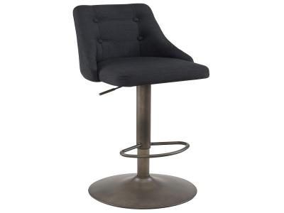 ADYSON-GAS LIFT STOOL-BLACK