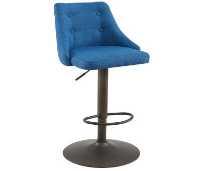 ADYSON-GAS LIFT STOOL-BLUE