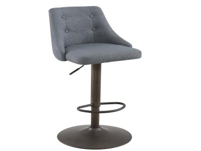 ADYSON-GAS LIFT STOOL-GREY