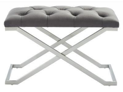 ALDO-SINGLE BENCH-GREY/SILVER