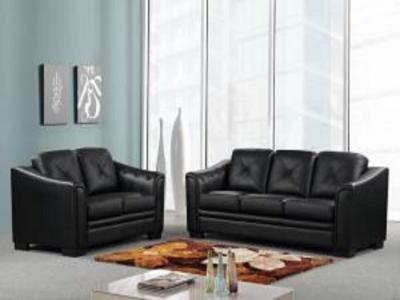 ALMA BLACK SOFA SET Living Rooms Modern