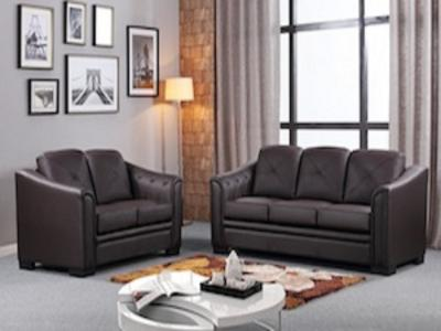 ALMA CHOCOLATE SOFA SET Living Rooms Modern