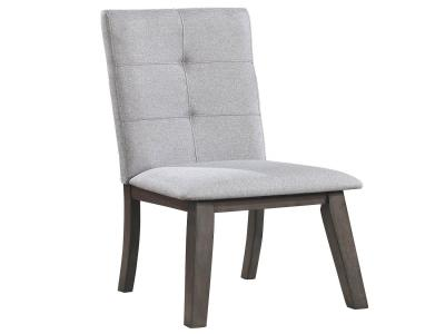 ASHLAND-SIDE CHAIR-GREY by Midha's Furniture Serving Brampton, Mississauga, Etobicoke, Toronto, Scraborough, Caledon, Cambridge, Oakville, Markham, Ajax, Pickering, Oshawa, Richmondhill, Kitchener, Hamilton and GTA area