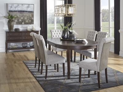 Signature Design by Ashley Adinton Dining Set 5 PC in Reddish Brown by Midha's Furniture Serving Brampton, Mississauga, Etobicoke, Toronto, Scraborough, Caledon, Cambridge, Oakville, Markham, Ajax, Pickering, Oshawa, Richmondhill, Kitchener, Hamilton and GTA area