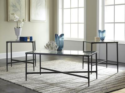 Augeron 3 PC Coffee Table Set by Midha's Furniture Serving Brampton, Mississauga, Etobicoke, Toronto, Scraborough, Caledon, Cambridge, Oakville, Markham, Ajax, Pickering, Oshawa, Richmondhill, Kitchener, Hamilton and GTA area