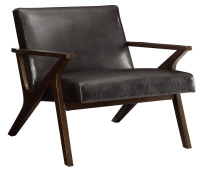 BESO-ACCENT CHAIR-BROWN