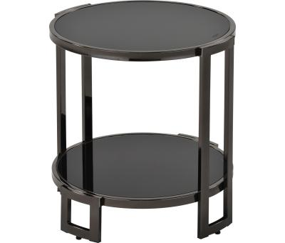 BOGDON-ACCENT TABLE-BLACK NICKEL