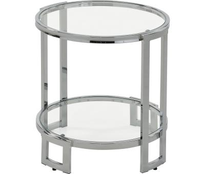BOGDON-ACCENT TABLE-CHROME