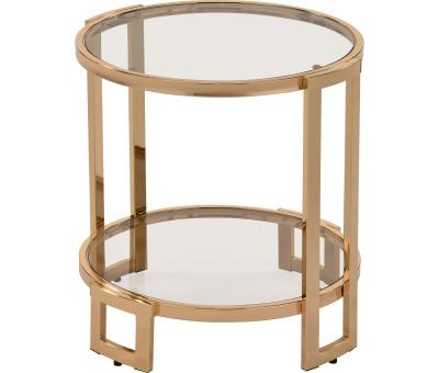 BOGDON-ACCENT TABLE-GOLD