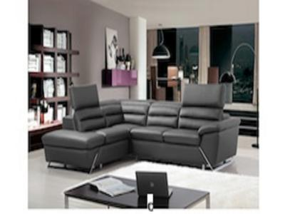 BONZA SECTIONAL (LHF) DARK GREY Living Rooms Modern