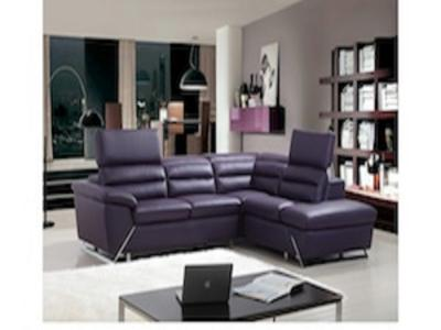 BONZA SECTIONAL (RHF) PURPLE Living Rooms Modern