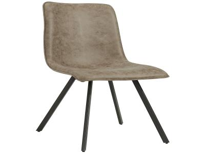 BUREN-SIDE CHAIR-VINTAGE BROWN by Midha's Furniture Serving Brampton, Mississauga, Etobicoke, Toronto, Scraborough, Caledon, Cambridge, Oakville, Markham, Ajax, Pickering, Oshawa, Richmondhill, Kitchener, Hamilton and GTA area