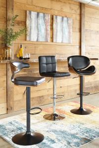 Ballatier Series Bar Stools by Midha's Furniture Serving Brampton, Mississauga, Etobicoke, Toronto, Scraborough, Caledon, Cambridge, Oakville, Markham, Ajax, Pickering, Oshawa, Richmondhill, Kitchener, Hamilton and GTA area