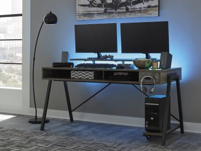Barolli Gaming Desk by Midha's Furniture Serving Brampton, Mississauga, Etobicoke, Toronto, Scraborough, Caledon, Cambridge, Oakville, Markham, Ajax, Pickering, Oshawa, Richmondhill, Kitchener, Hamilton and GTA area
